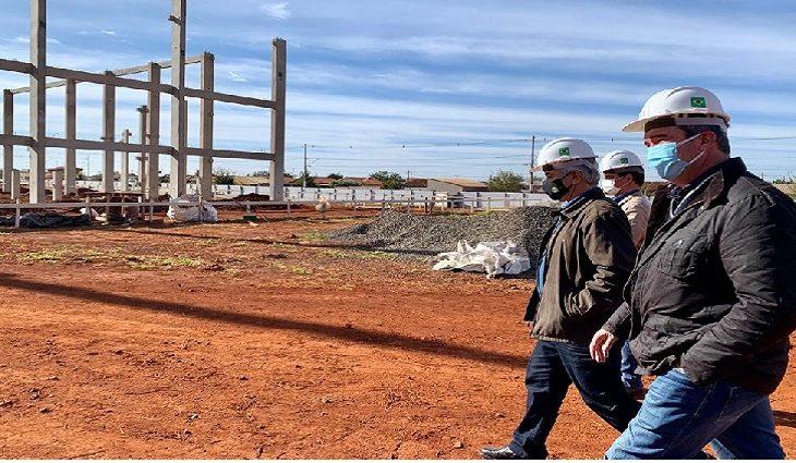 Secretário Riedel visita importantes obras de Infraestrutura e entregas em Maracaju e Coxim - Crédito: Guilherme Pimentel e Edemir Rodrigues