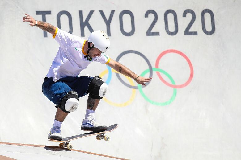Pedro Barros conquista prata no skate park da Olimpíada - Crédito: Gaspar Nóbrega/COB