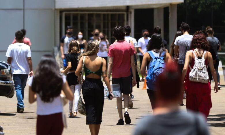 Estudantes têm até hoje para se inscrever na lista de espera do ProUni - Crédito: Marcello Casal Jr./Agência Brasil
