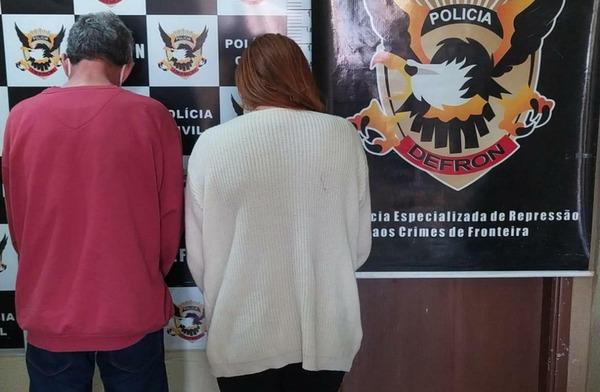 Casal do tráfico é preso em Dourados com mais de 50 pinos de cocaína - Crédito: Divulgação