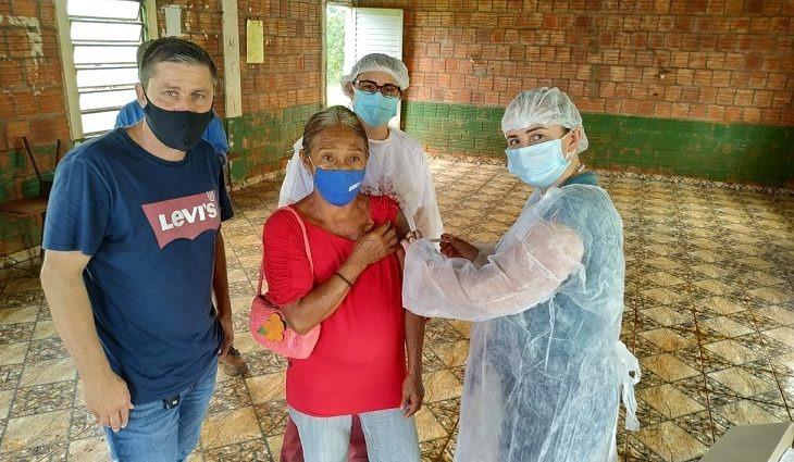 """População Indígena do MS atinge """"imunidade coletiva"""" -"""