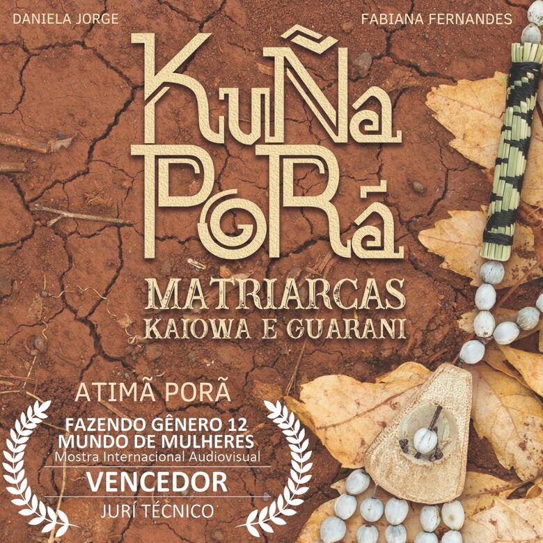 Douradense ganha mostra internacional com filme sobre mulheres indígenas do MS - Crédito: Divulgação