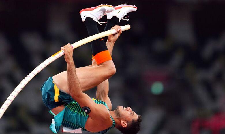 Thiago Braz conquista bronze no salto com vara - Crédito: Aleksandra Szmigiel