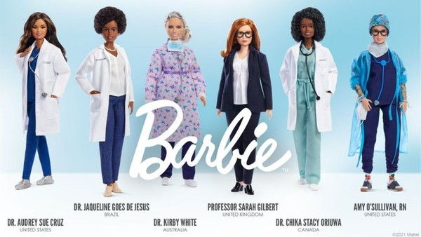 Barbie brasileira: Biomédica que ajudou a sequenciar DNA do coronavírus é homenageada com boneca - Crédito: Mattel/Divulgação