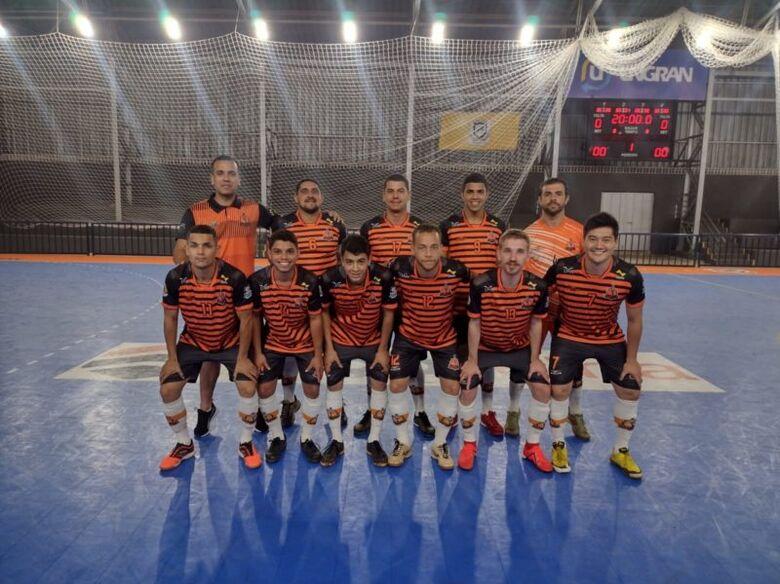 Futsal começa com goleada nos Jogos Abertos de Dourados -