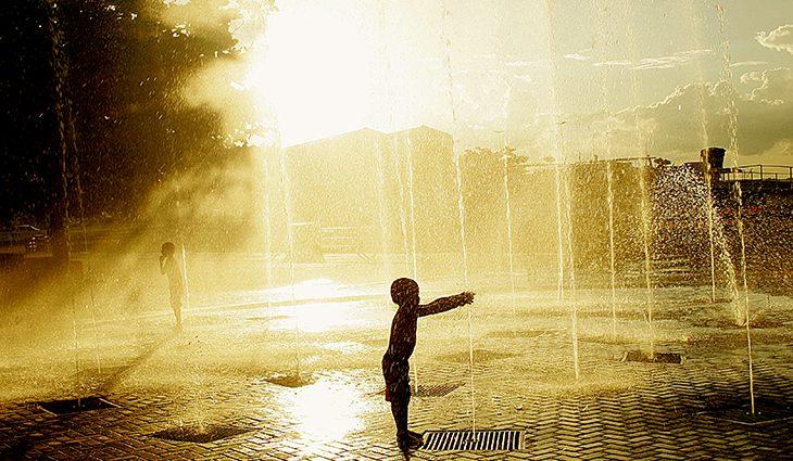 Final de semana reserva pancadas de chuva, mas calor não vai dar trégua - Crédito: Edemir Rodrigues