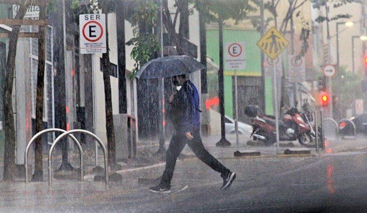 Terça-feira de tempo instável com ventos fortes e chuva em Mato Grosso do Sul - Crédito: Saul Schramm