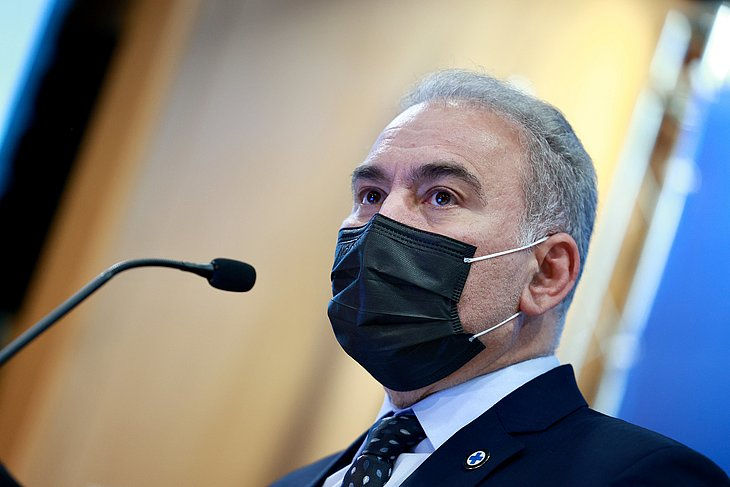 Ministro da Saúde, Marcelo Queiroga, testa positivo para a Covid-19 - Crédito: Divulgação/Walterson Rosa/MS