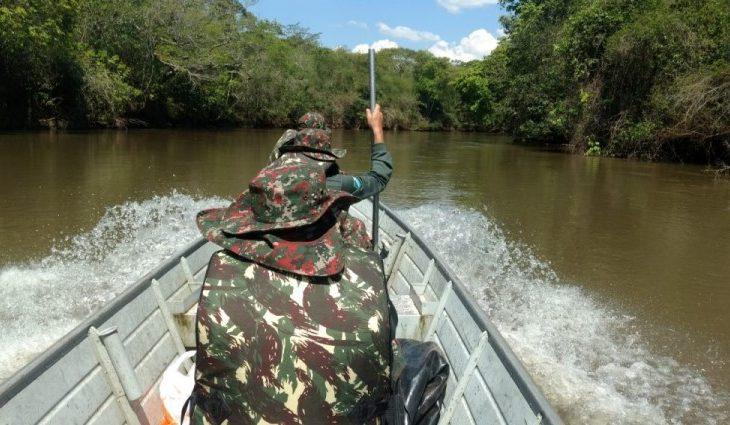 Operação da PMA intensifica fiscalização contra pesca predatória nos rios do Estado - Crédito: Divulgação\PMA