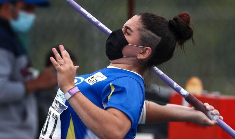 Beneficiária do Bolsa Atleta MS leva o bronze no dardo no Brasileiro Sub-23 de Atletismo - Crédito: Wagner Carmo/CBAt