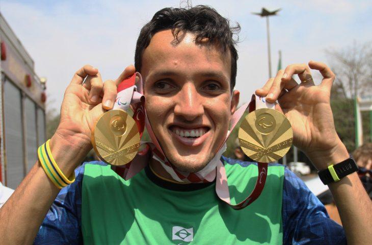 """""""Mato Grosso do Sul plantou e colheu"""", diz Yeltsin, dono de dois ouros nos Jogos Paralímpicos de Tóquio 2020 - Crédito: Saul Schramm"""
