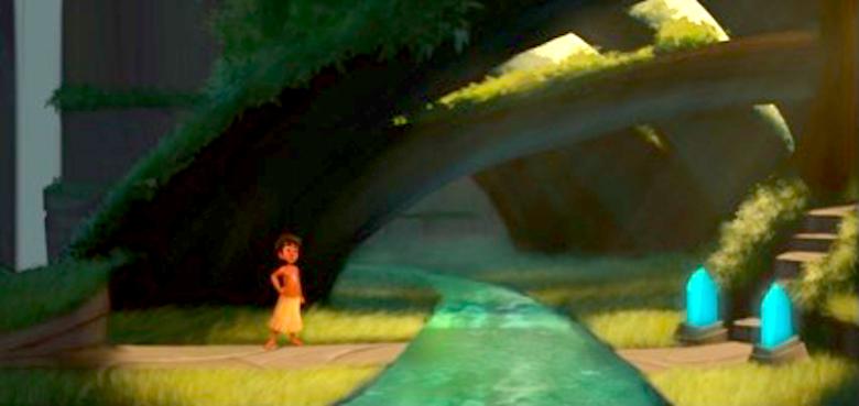 Reprodução da tela do jogo. Ilustração feita por Hugo Cestari - Crédito: Reprodução