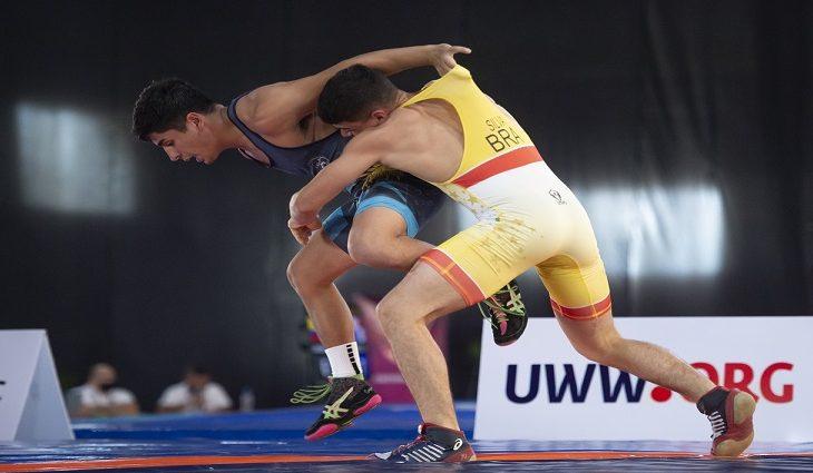 Irmãos do wrestling de MS são chamados para treinamento da seleção brasileira com foco no Pan Júnior - Crédito: Osvaldo Aguilar/UWW