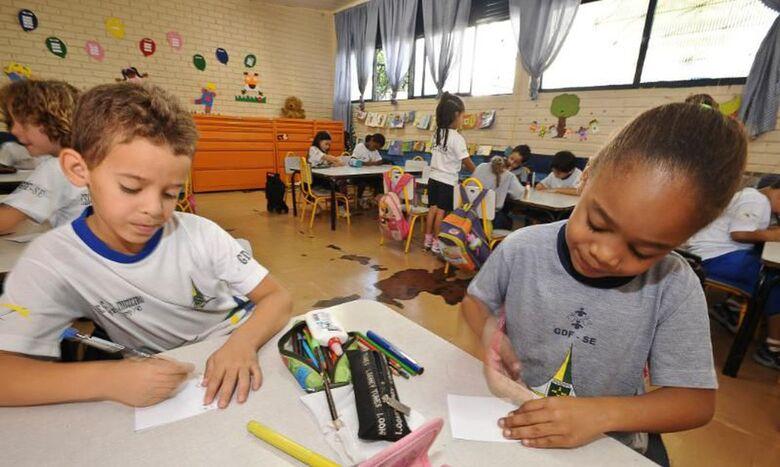 Pandemia causa impactos na alfabetização de crianças - Crédito: Arquivo/Agência Brasil