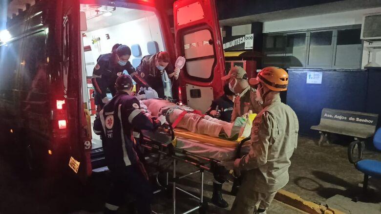 Motociclista morre no HV após ser atropelado na rua Cuiabá - Crédito: Cido Costa