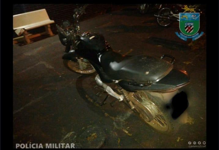 9ª Companhia da Polícia Militar recupera moto furtada -
