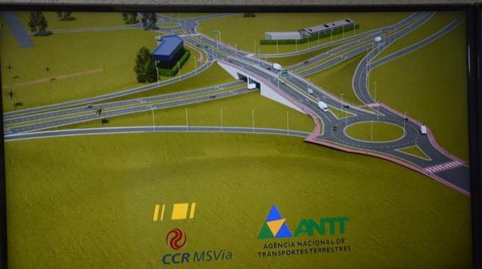 Obras de viaduto na BR-163 começam mês que vem e vão até junho -