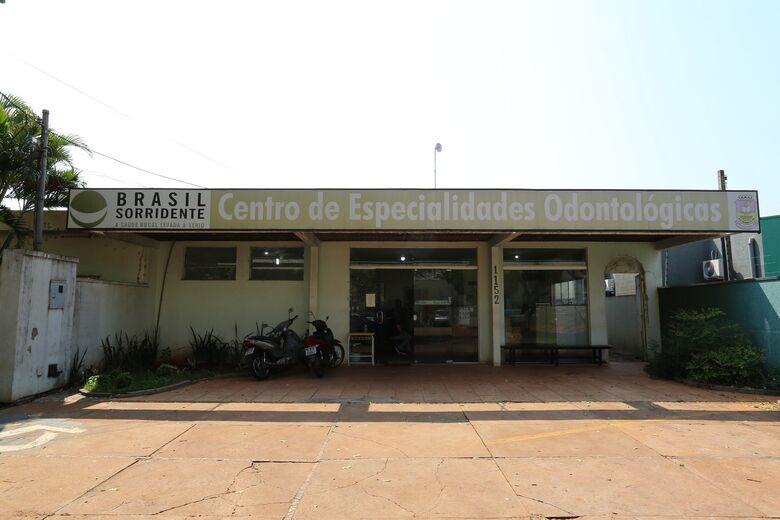 Laudir solicita reparos no Centro de Especialidades Odontológicas - Crédito: A. Frota