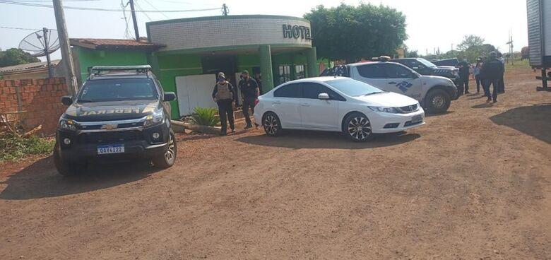 PF e Receita Federal deflagram operação em 2 hotéis em Dourados - Crédito: Cido Costa