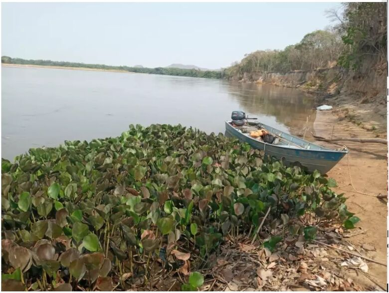Mãe e filho morrem em rio de MS com barco desgovernado - Crédito: Sidney Assis/DiárioX