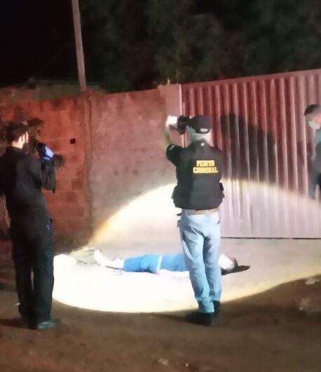 Homem é assassinado com vários tiros de pistola em Dourados - Crédito: Cido Costa