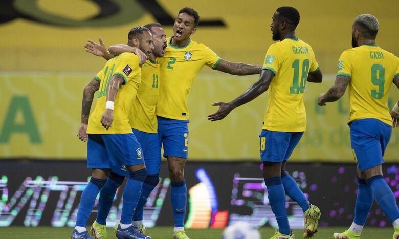 Seleção vence Peru e mantém campanha perfeita nas Eliminatórias - Crédito: Lucas Figueiredo/CBF/Direitos Reservados