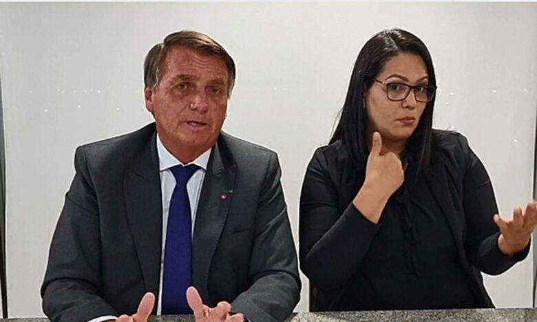 Presidente diz que carta teve boa repercussão no mercado financeiro - Crédito: Reprodução/Facebook Jair Messias Bolsonaro