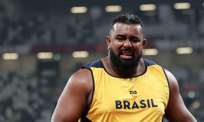 Thiago Paulino é ouro no arremesso de peso - Crédito: Takuma Matsushita/CPB