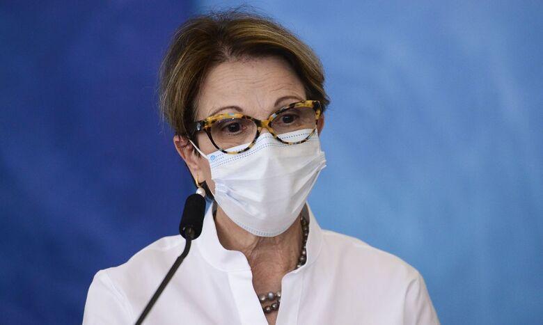 Ministra Tereza Cristina é diagnosticada com covid-19 - Crédito: Marcelo Camargo/Agência Brasil