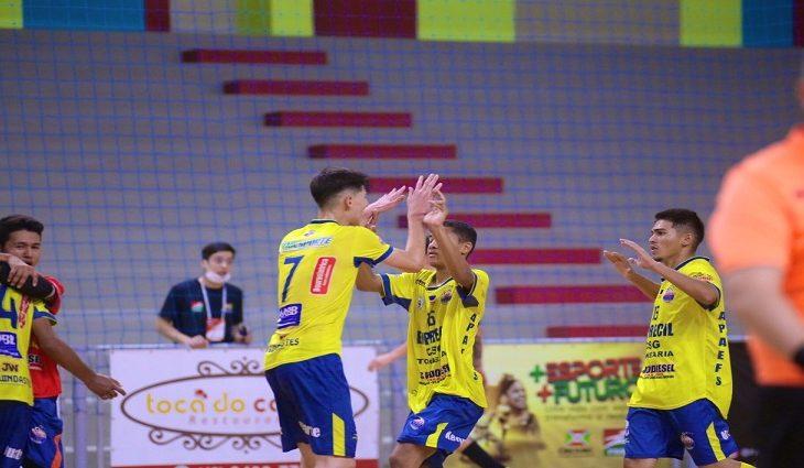 Apaefs empata pela Taça Brasil de Futsal Sub-17 e segue viva em busca da classificação -