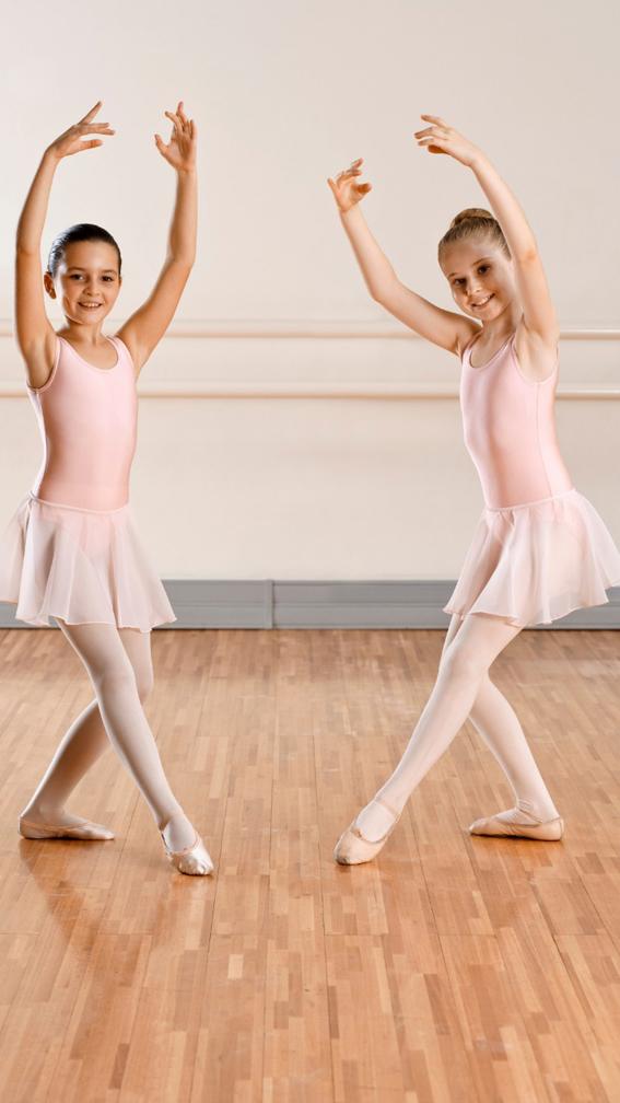 Crianças devem iniciar o ballet a partir dos 4 anos de idade - Crédito: Divulgação