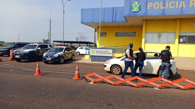 Operação Fronteiras e Divisas Integradas I apreende mais de 8 toneladas de drogas no MS - Crédito: Divulgação