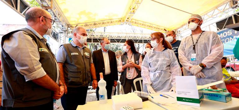 Ministério da Saúde lança Plano Nacional de Expansão da Testagem para Covid-19 -