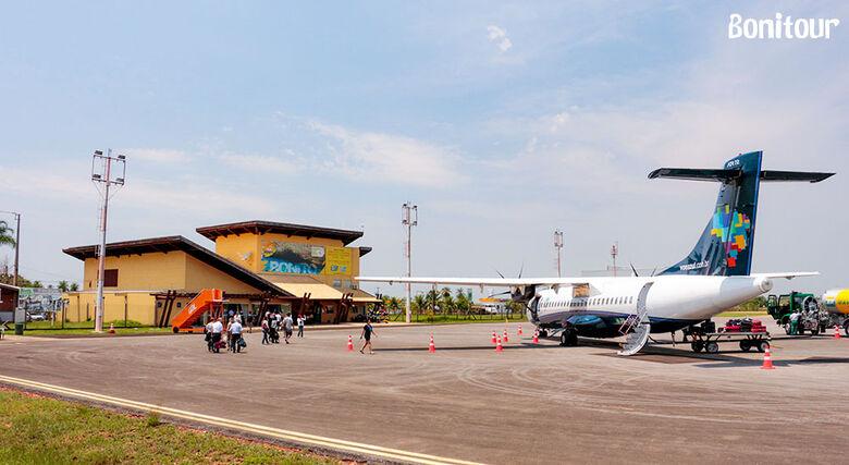 Espaço aéreo da Capital é fechado devido a queda de aeronave militar e voo é desviado para Bonito -