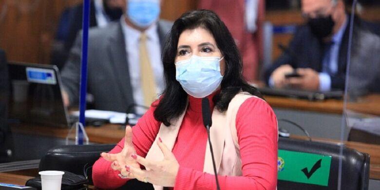 Senadora defende pauta na CPI da Pandemia, que ouviu o lobista da Precisa medicamentos, Marconny Albernaz Faria - Crédito: Divulgação/Senado
