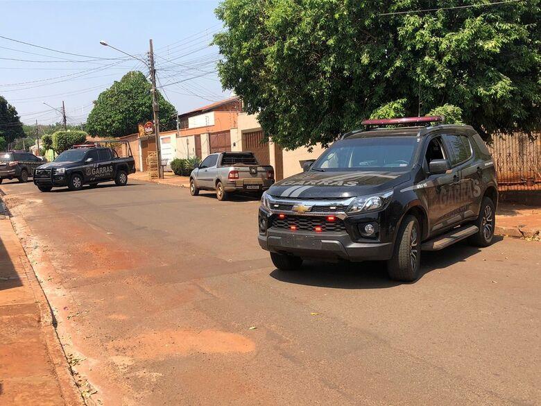 Sequestrador é morto em confronto com a polícia em Campo Grande - Crédito: Edmar Mello/TV Morena