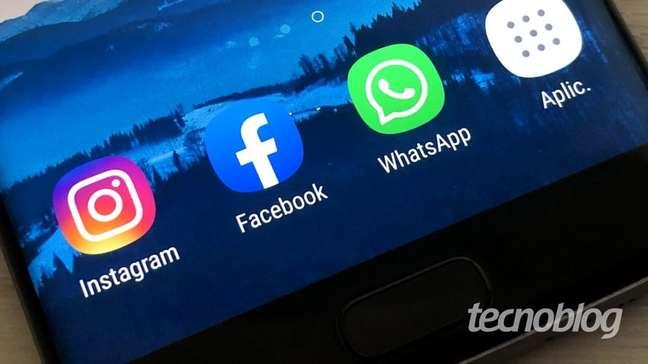 WhatsApp, Facebook e Instagram apresentam instabilidade - Crédito: Tecnoblog/Tecnoblog