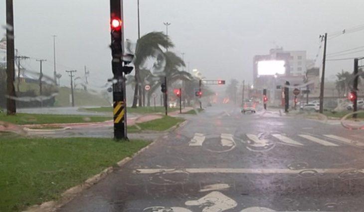 Chuvas retornam com chance de grandes acumulados para região sul do Estado - Crédito: Arquivo
