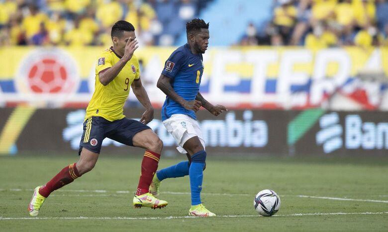 Colômbia x Brasil em Barranquilla pelas Eliminatórias da Copa - Crédito: Lucas Figueiredo/ CBF/ Direitos Reservados