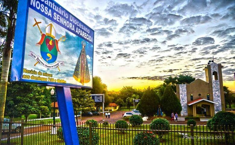 Missa drive-in marcará a 22ª Romaria de Nossa Senhora em Dourados - Crédito: Paulo Takarada