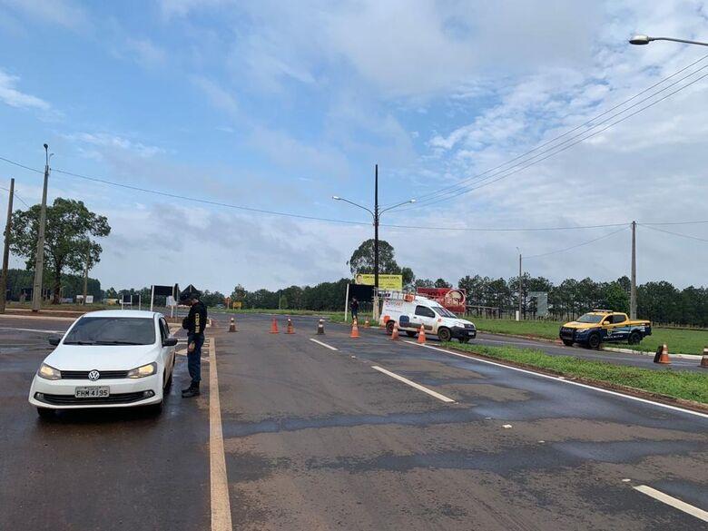 Operação Padroeira registra 12 acidentes e aplica 300 multas nas rodovias estaduais - Crédito: Divulgação