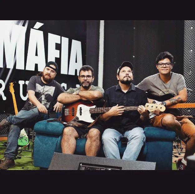 Banda de rock de MS lança nova obra autoral nas plataformas digitais - Crédito: Arquivo
