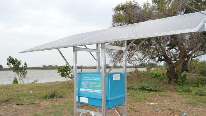 Projeto para levar energia elétrica ao Pantanal é indicado a prêmio mundial de inovação - Crédito: Anderson Viegas/G1 MS