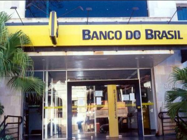 Foto:Banco do Brasil passa por pane em Dourados. -