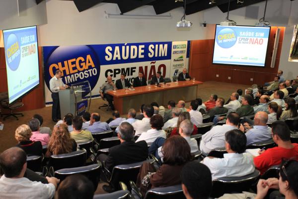 A campanha foi lançada ontem no Edifício Casa da Indústria, em Campo Grande Foto:Divulgação  -