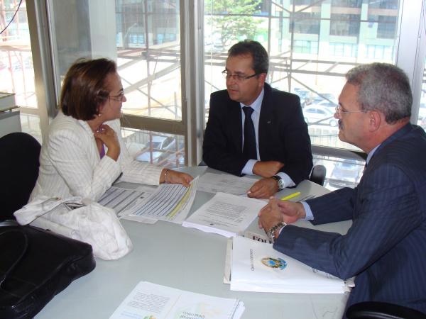 Geraldo define com FNDE, empenho de recursos para o Presidente Vargas Foto: divulgação -