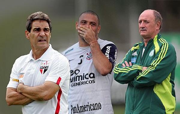 Jogadores do São Paulo e Palmeiras, descartam qualquer corpo mole nessa reta final. Foto: divulgação -