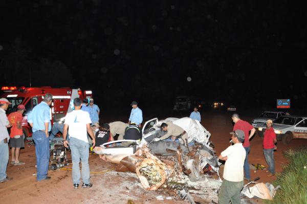 Acidente matou dois funcionários da Usina Passa Tempo. Foto: Roberto/Maracaju Speed    -