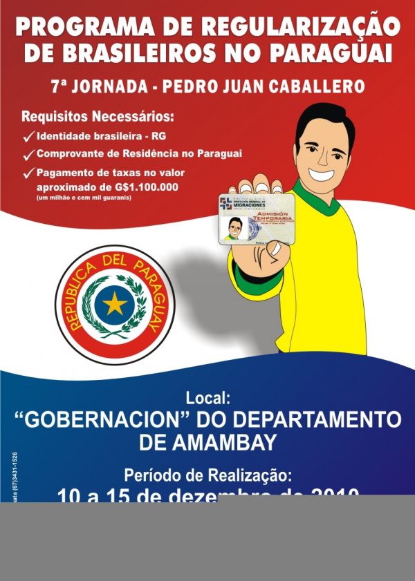 Brasileiros vão poder se regularizar -