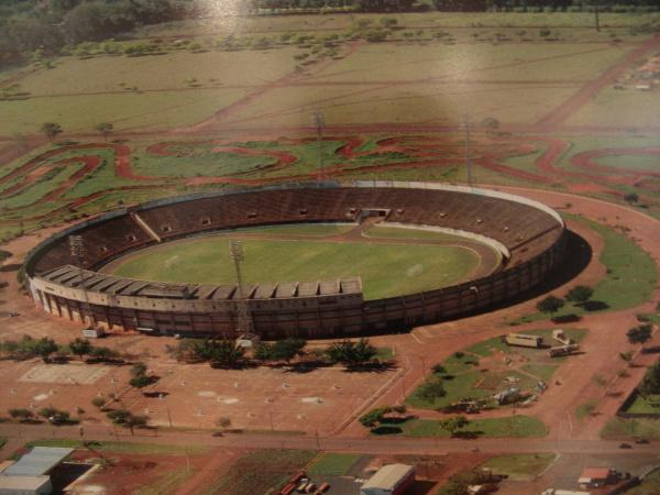 Douradão, um dos maiores Estádios de MS, continua sendo piada para o interior Foto: Arquivo    -